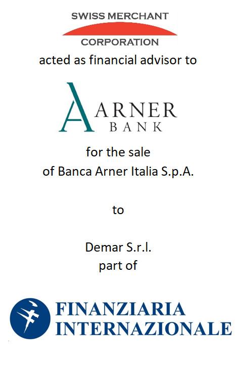 Arner Bank - Swiss Merchant Corporation
